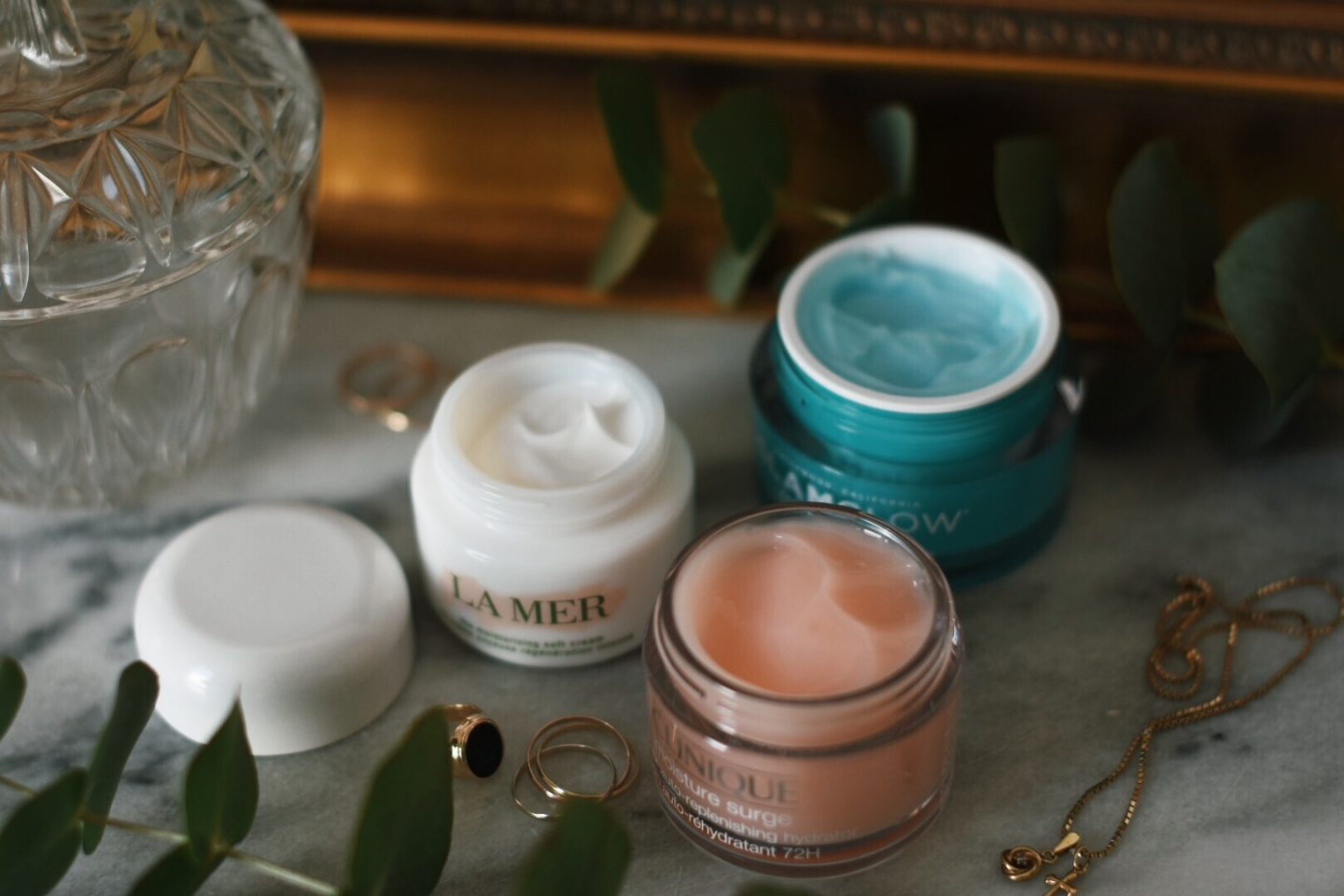 Tested: face moisturizer from La Mer, Clinique & Glamglow